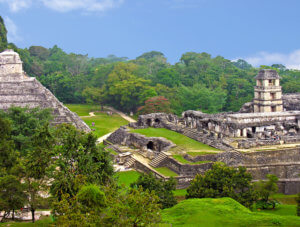 Maya tempels